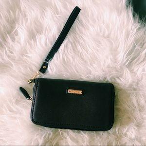 Purple Wallet Wristlet